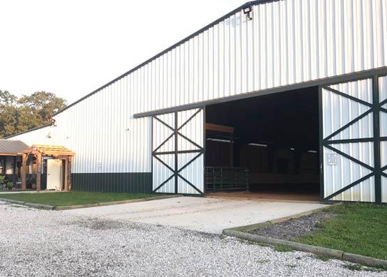 Equus Curito Barn Exterior
